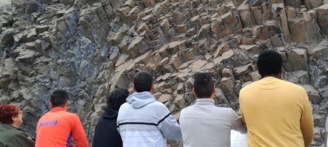 Visitamos el volcán del Cerro Negro, en Calasparra
