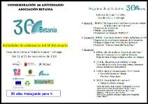 Conmemoración 30 Aniversario Asociación Betania