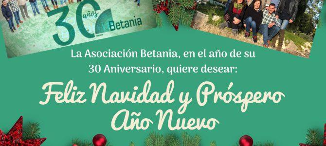 La Asociación Betania os desea, FELIZ NAVIDAD!!
