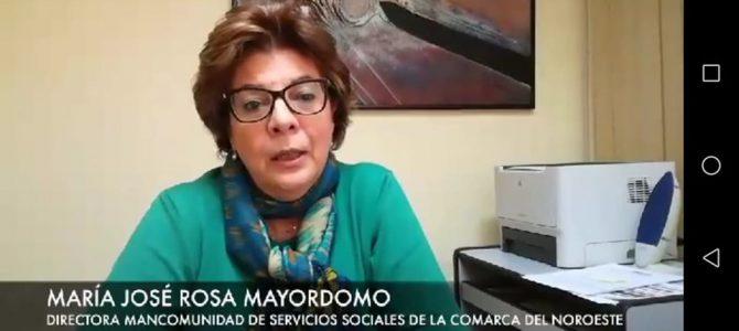 Nuestras condolencias por el fallecimiento de María José Rosa Mayordomo